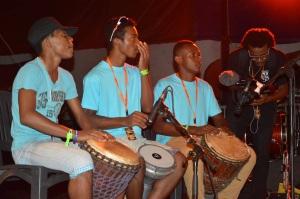 Le groupe Cabadzi au festival Milatsika 2015