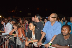 Le public venu nombreux pour l'édition 2015 du festival Milatsika