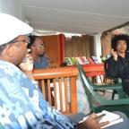 Raharimanana parle écriture et édition avec les écrivains mahorais