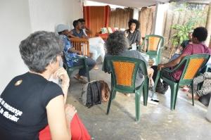 Rencontre entre écrivains de Mayotte et Jean-Luc Raharimanana à la Bouquinerie de Passamainty (Nassuf DJAILANI)