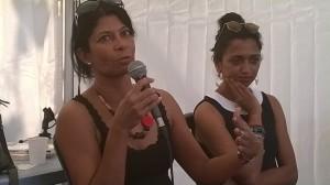La romancière Shénaz Patel au Salon du livre Athéna 2015