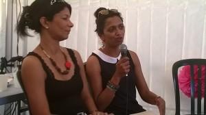 La romancière Natacha Appanah au Salon du livre Athena 2015